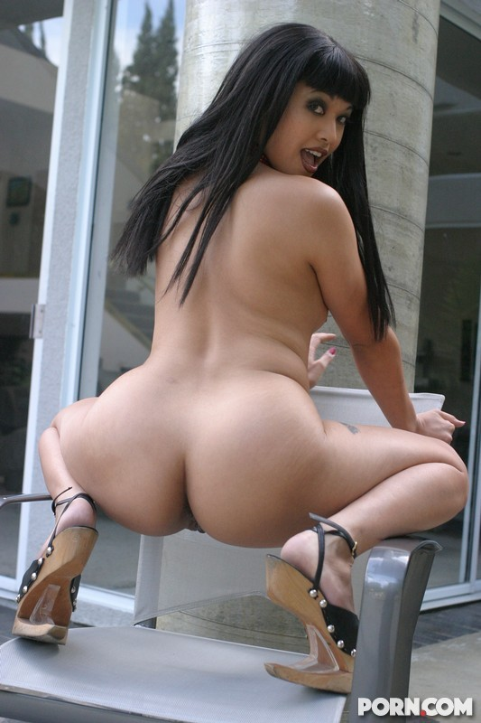 A great looking firm asian ass