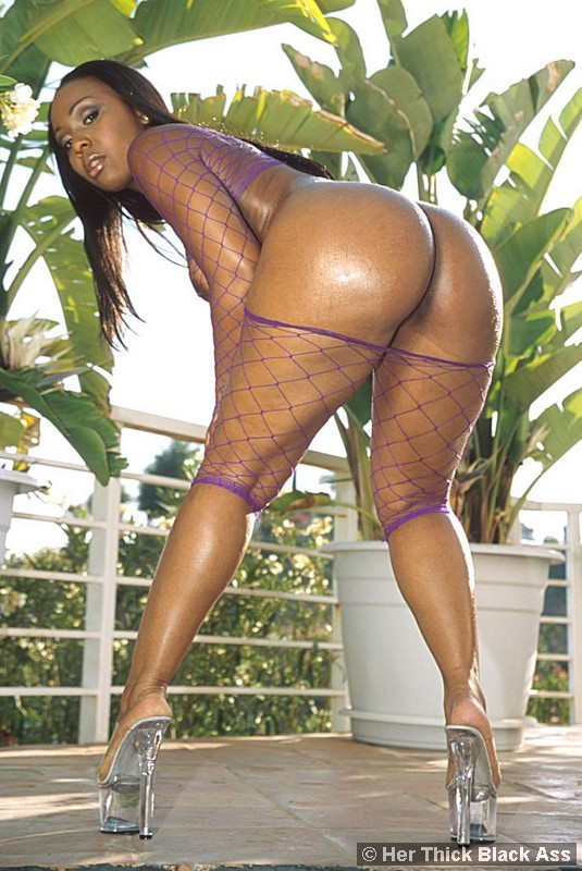 thick black ass