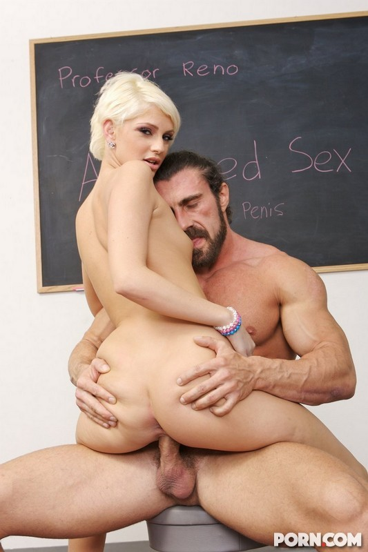 cock riding in class