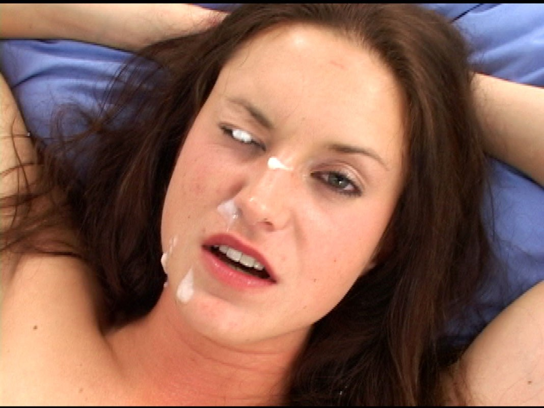 eyes and nose cumshot