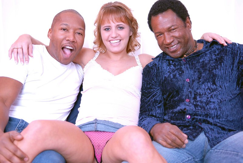 two black guys one white woman