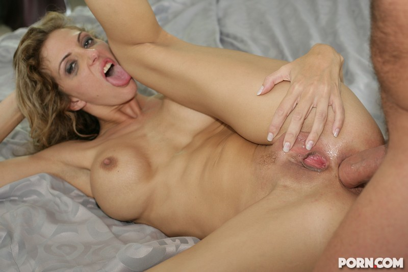 big dick shoved up her tight asshole
