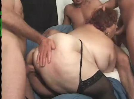 bbw group sex